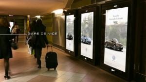 Volkswagen avec MediaTransports-Pôle Gares