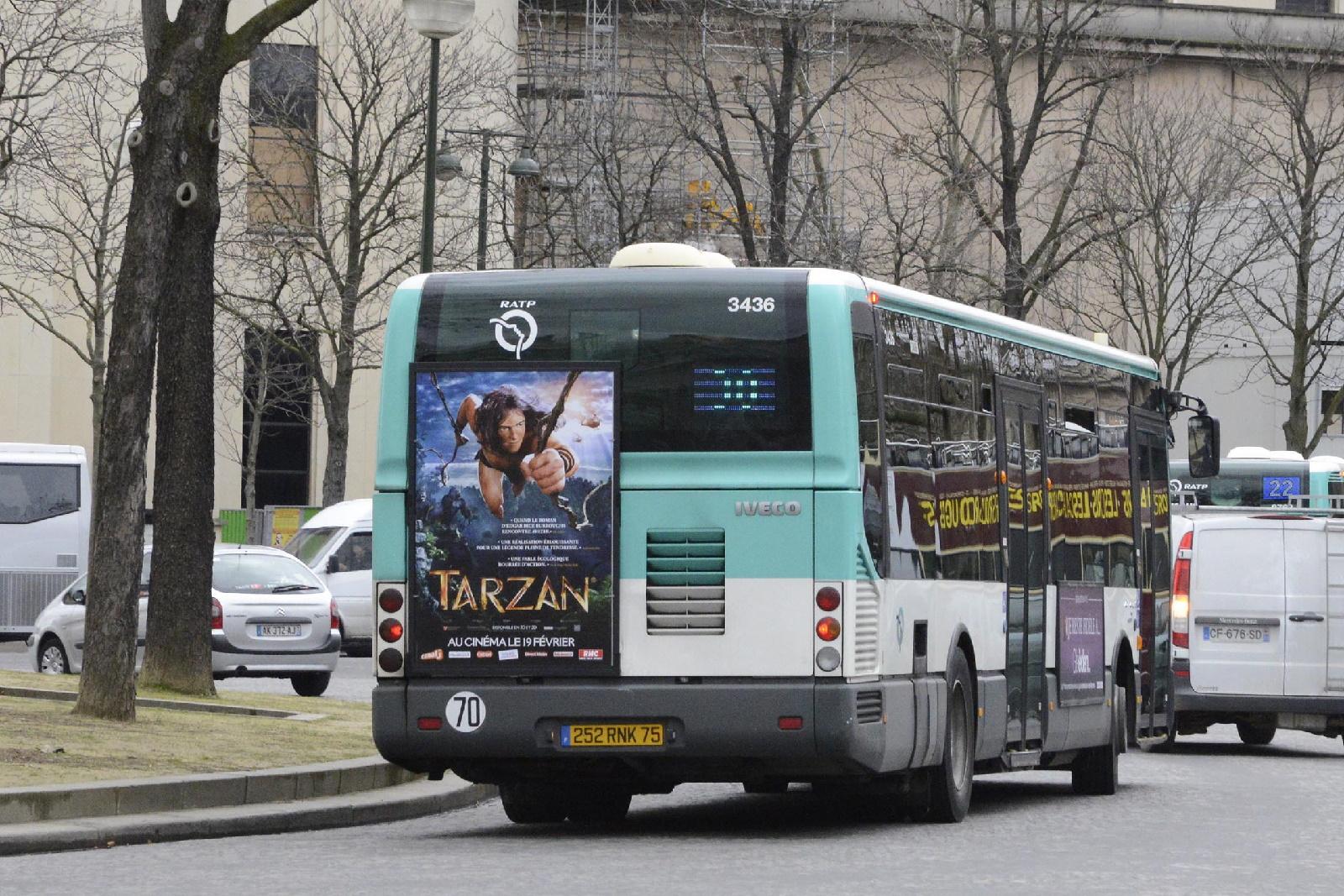 Metrobus lance un nouveau format publicitaire bus tr s forte visibilit l - Reseau transport capital ...