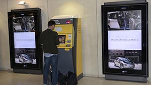 En octobre, BMW, avec Médiagares, invité les voyageurs à découvrir la BMW i3, voiture électrique et électrisante grâce à une campagne digitale efficace et dynamisante.