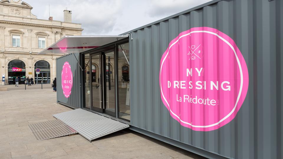 Mydressing la redoute s 39 installe en gare de reims m diatransports - Magasin la redoute a lyon ...