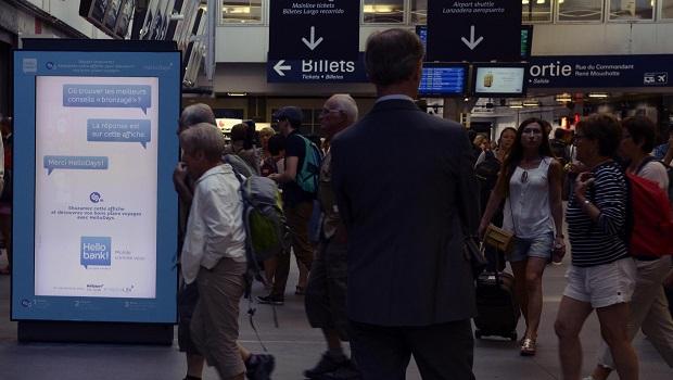 Shazamez vos bons plans avec hello bank - Salon grand voyageur gare montparnasse ...