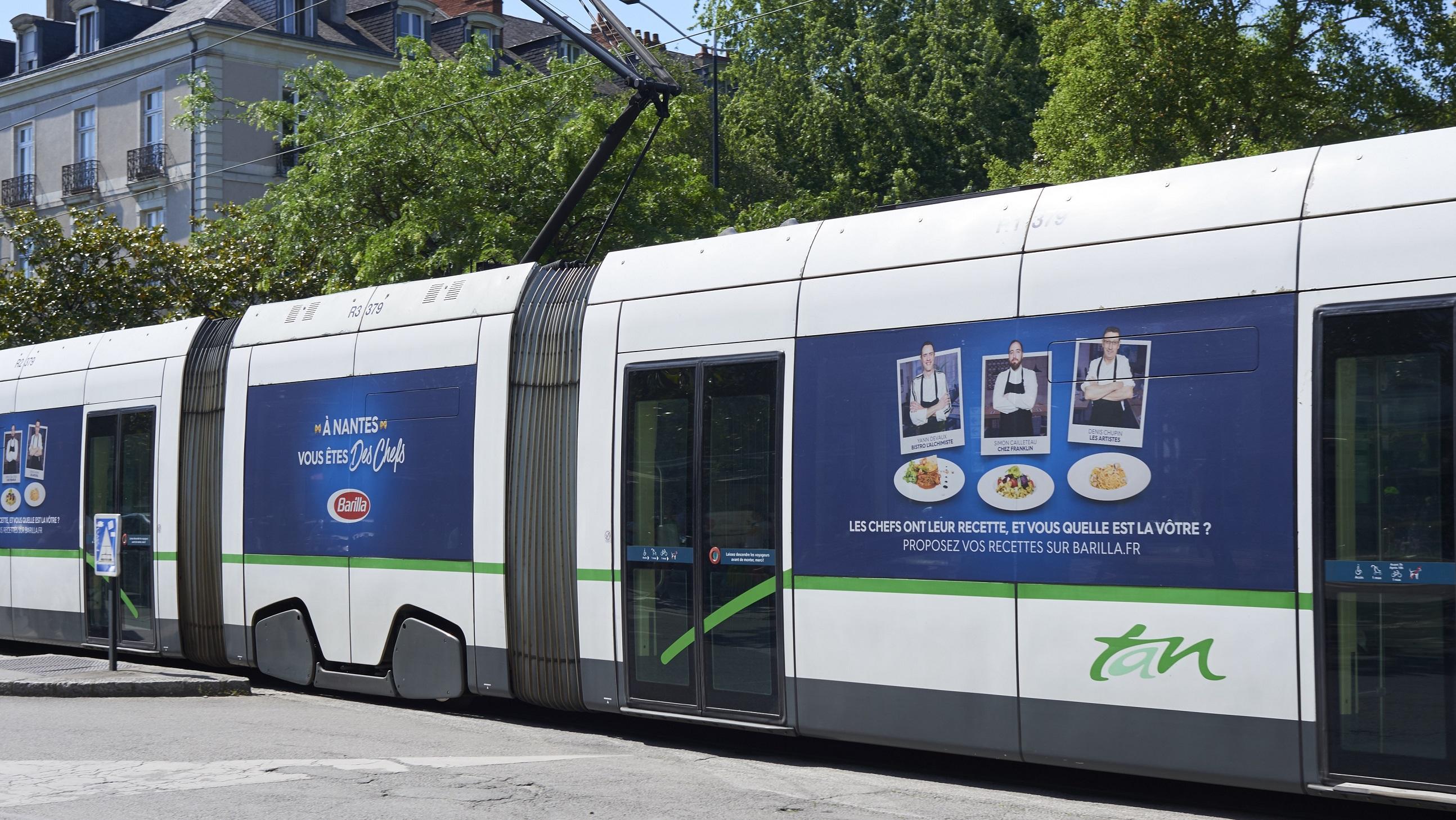 Barilla - Tramway adhésivé Nantes - Mai 2017 (4)
