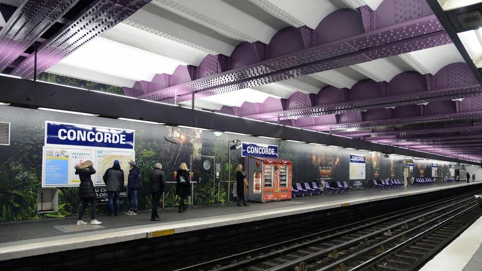 Mediatransports leader de l 39 affichage transport - Metro gare de lyon porte de versailles ...